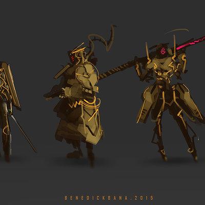 Benedick bana 7 samurai