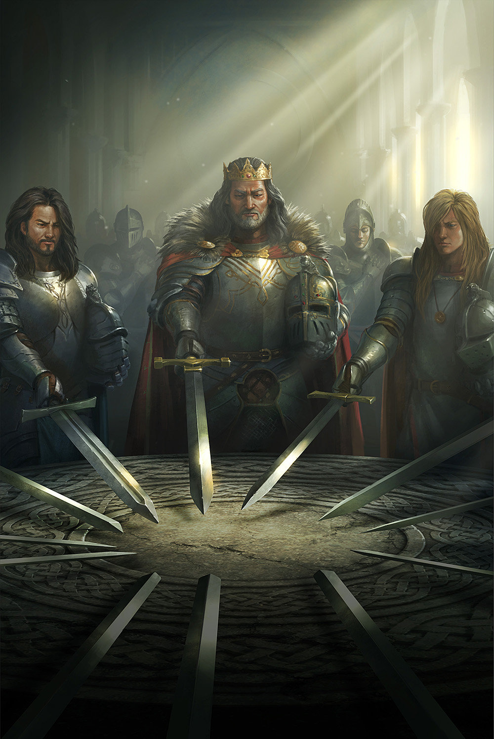 king arthur of the knights of the round table and camelot did he exist Some knights died and other brave and good knights came to camelot one day a new knight, sir pellinore, arrived at camelot, and arthur gave him a place at the round table.