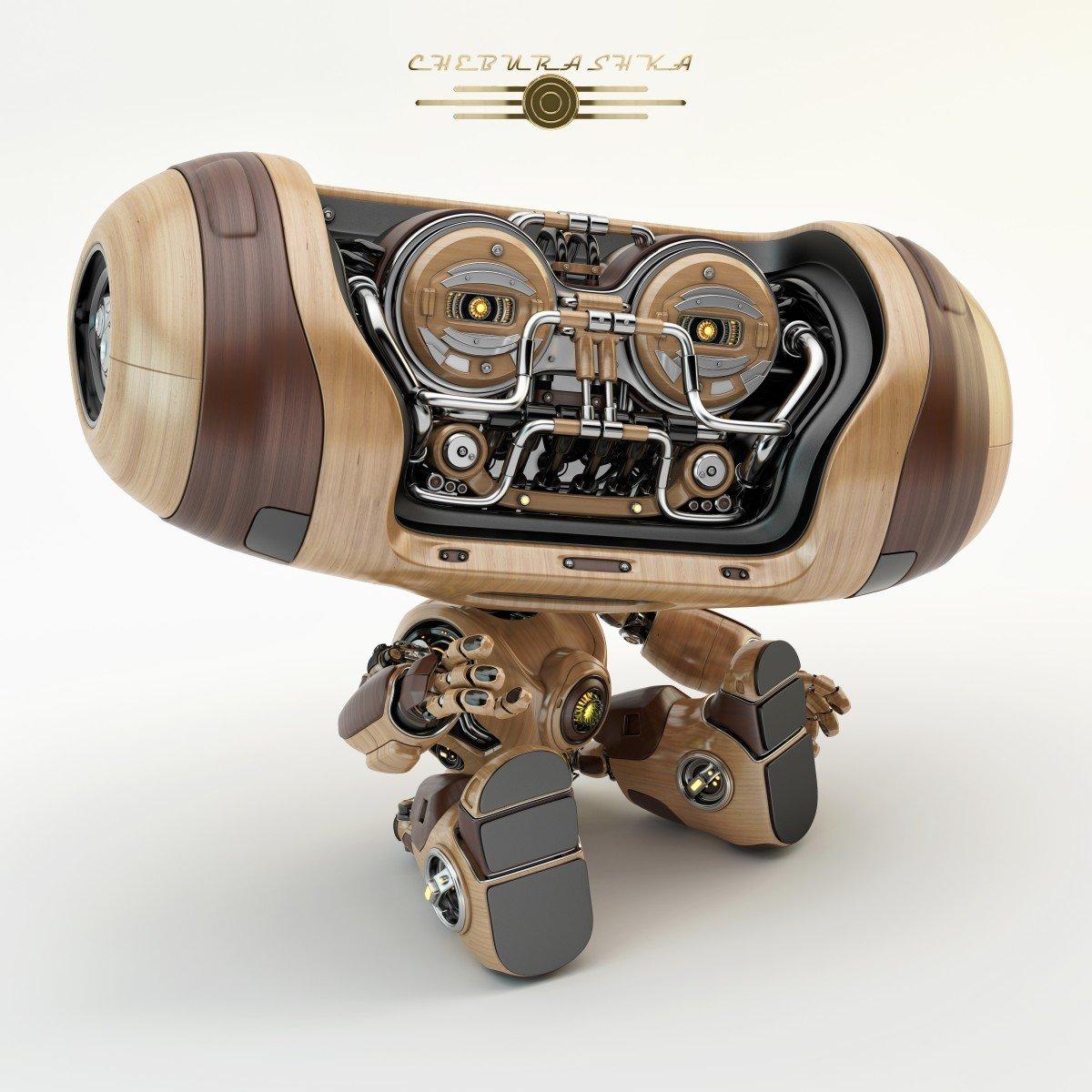 Vladislav ociacia cheburashka robot 6