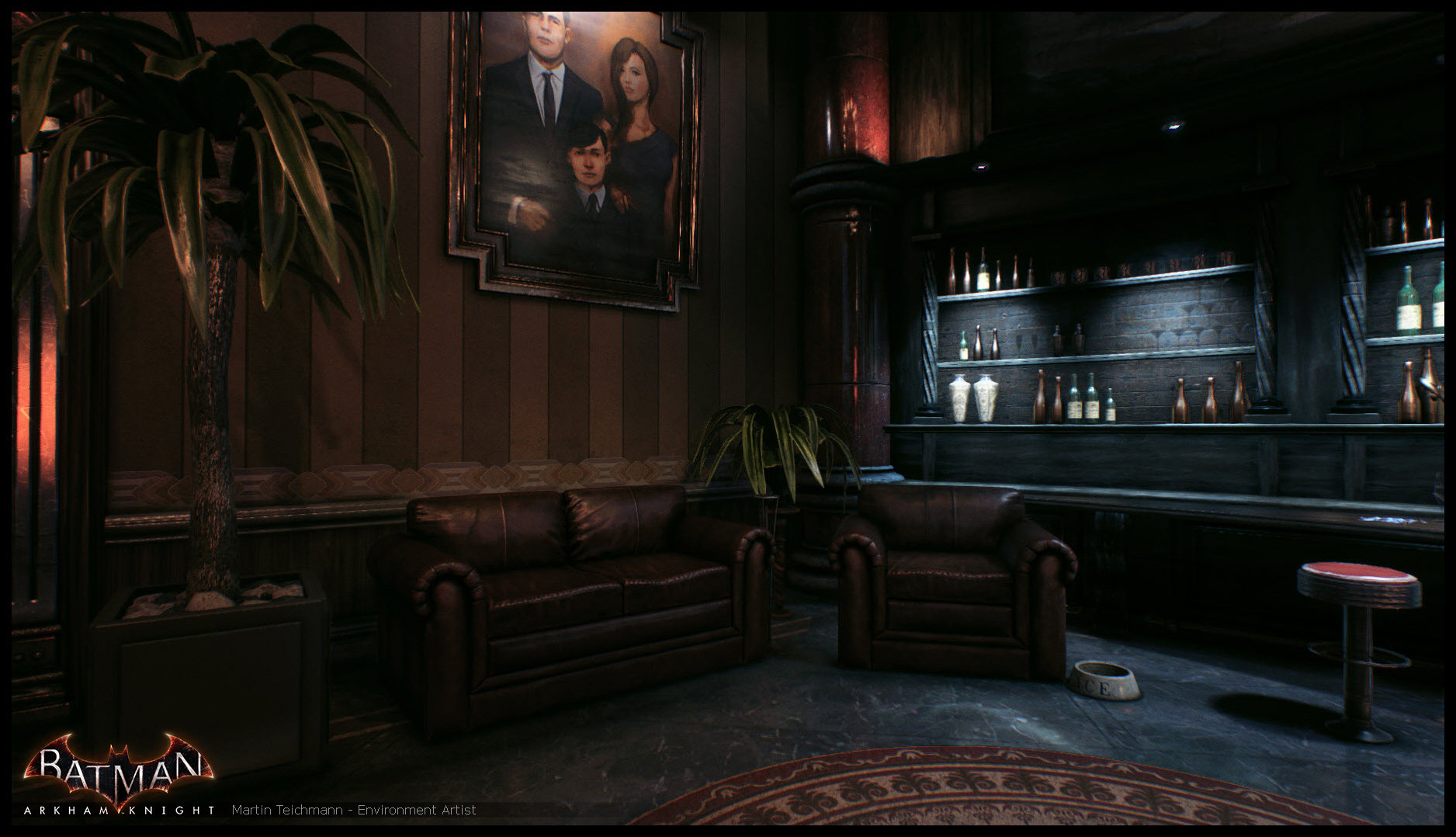 Martin teichmann arkham knight office 02