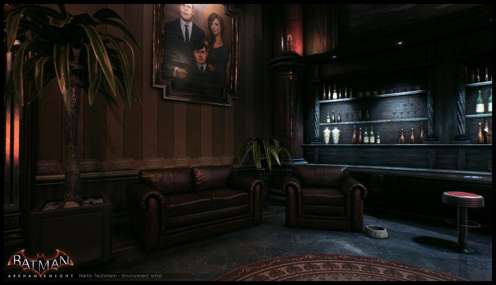 Batman Arkham Knight - Wayne Office