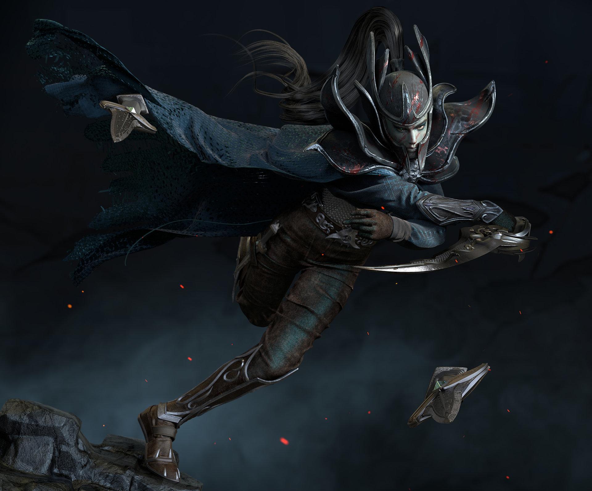 artstation default mortred phantom assassin