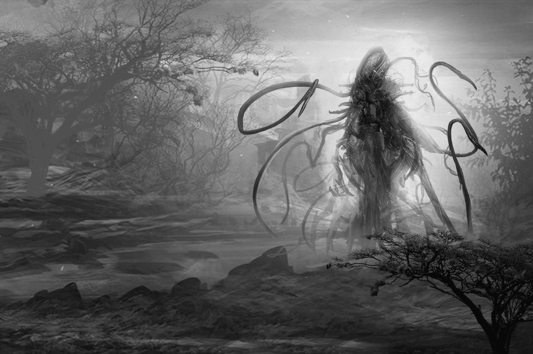 Hntrung tentacles