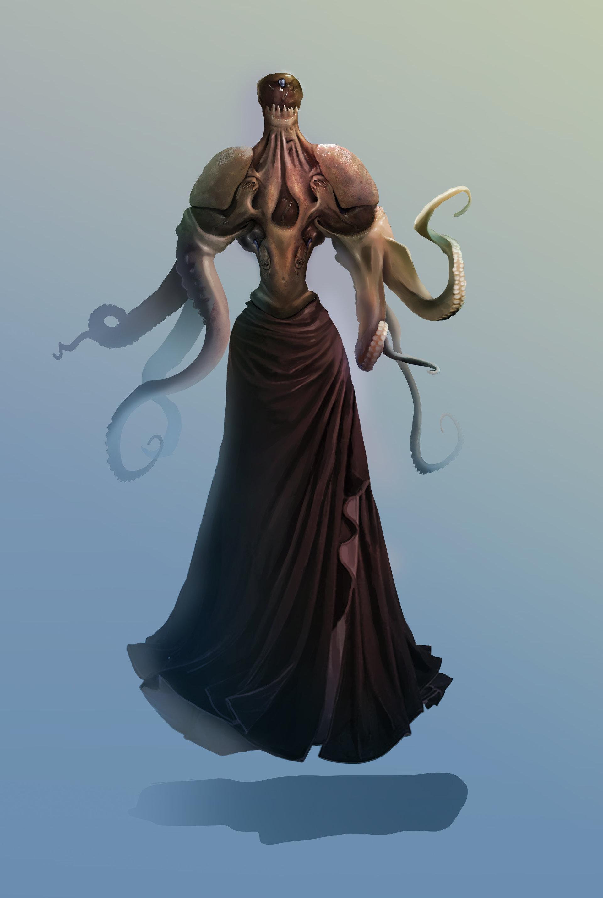 Hntrung alien priest