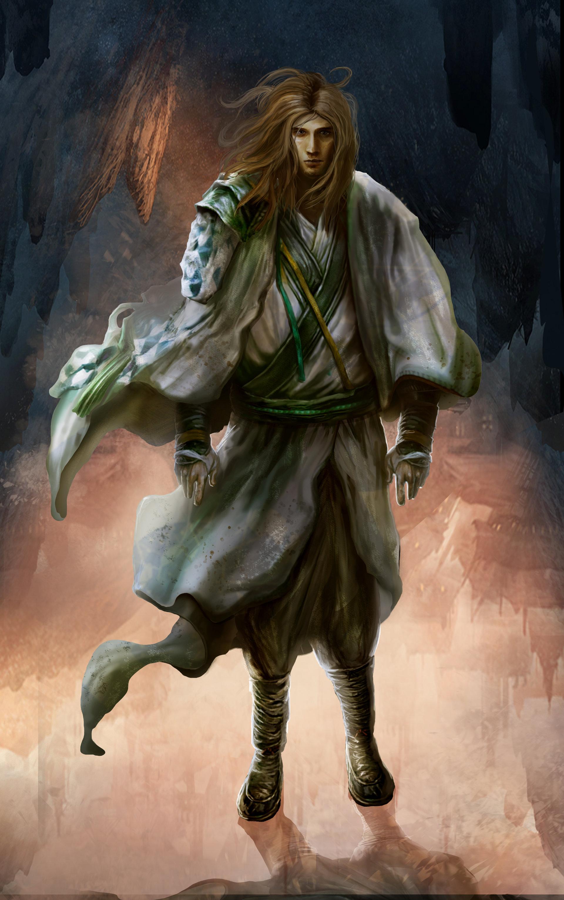Hntrung martial art character