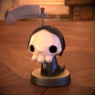 Guile kuma la petite mort figurine3d