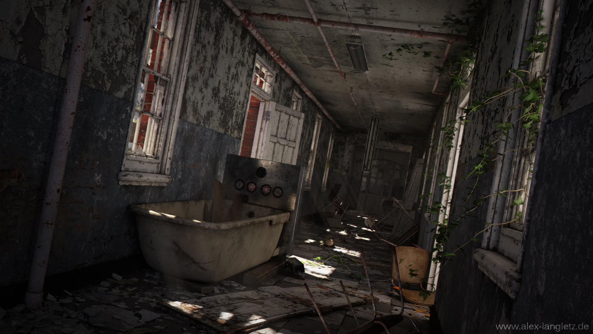 Alex langletz abandoned asylum