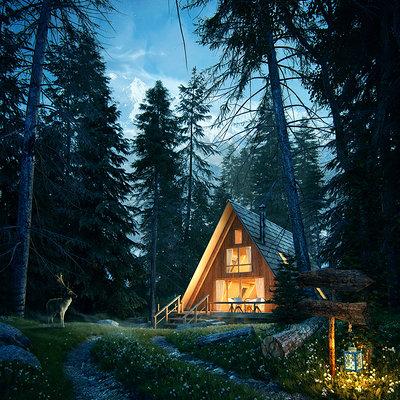 Romuald chaigneau forest house jour nuit1 redim