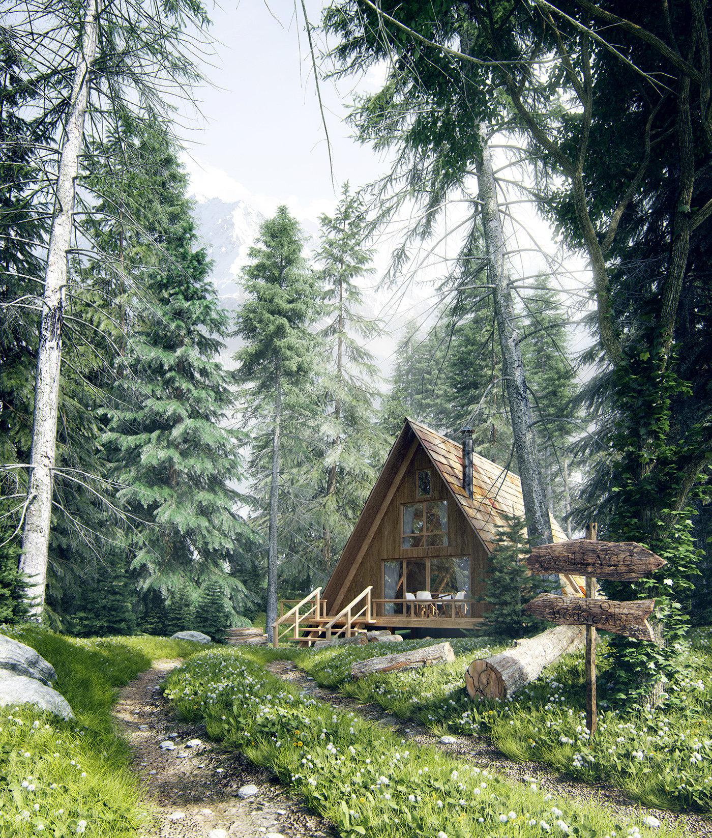 Romuald chaigneau forest house jour vue1 redim