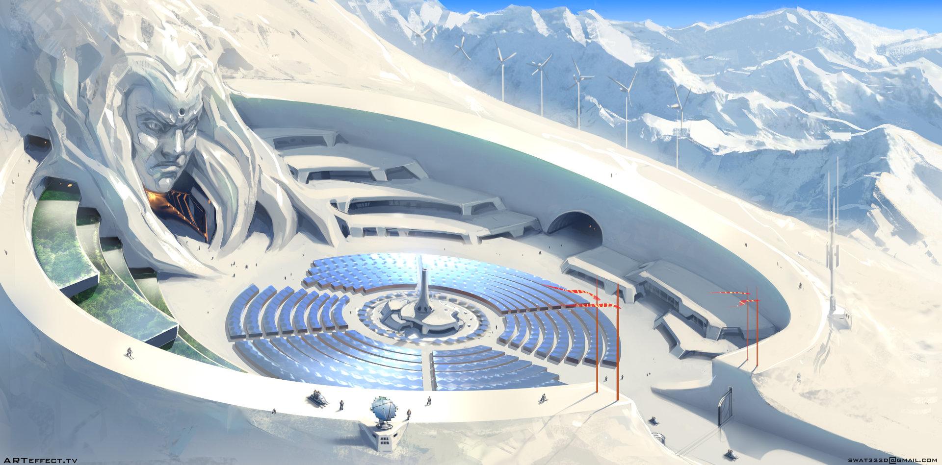 Sviatoslav gerasimchuk snow planet