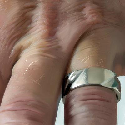Guenter zimmermann hand ring contrast 02