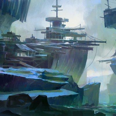 Xin ran liu boat