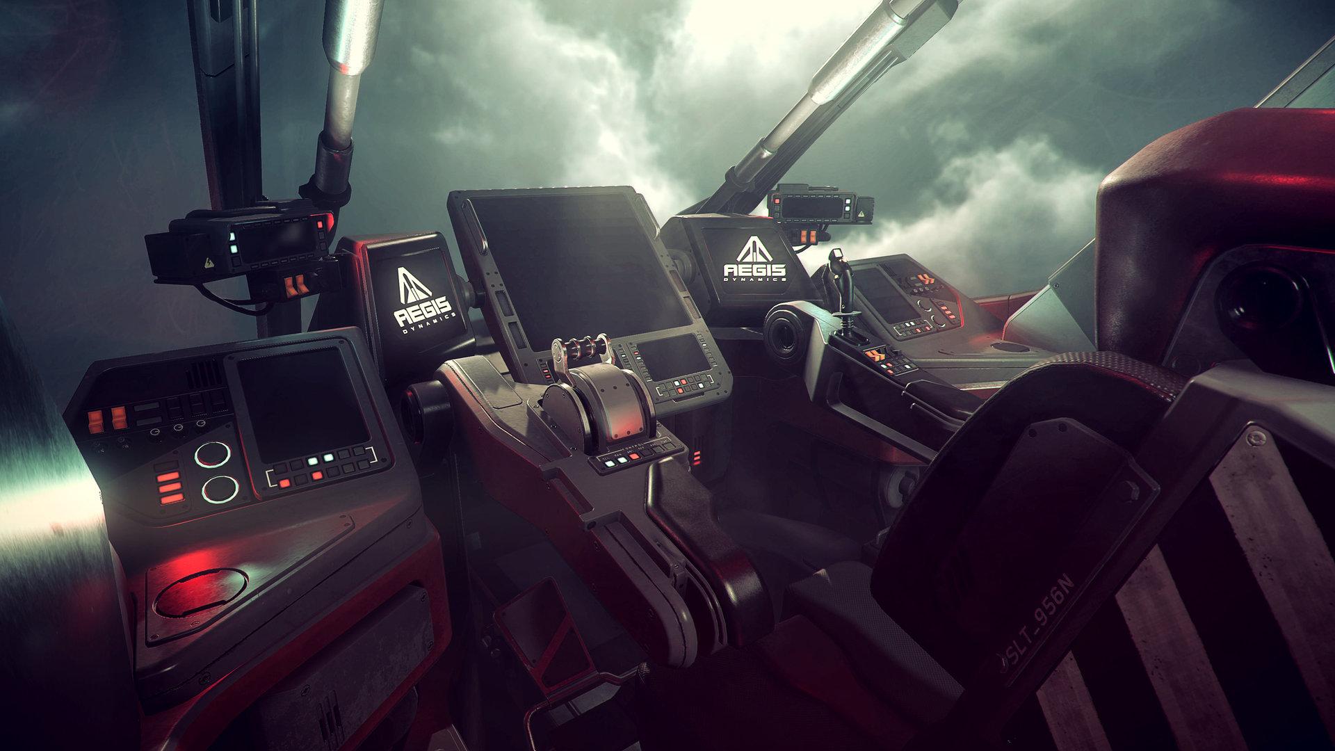 Nathan dearsley retaliator cockpit b