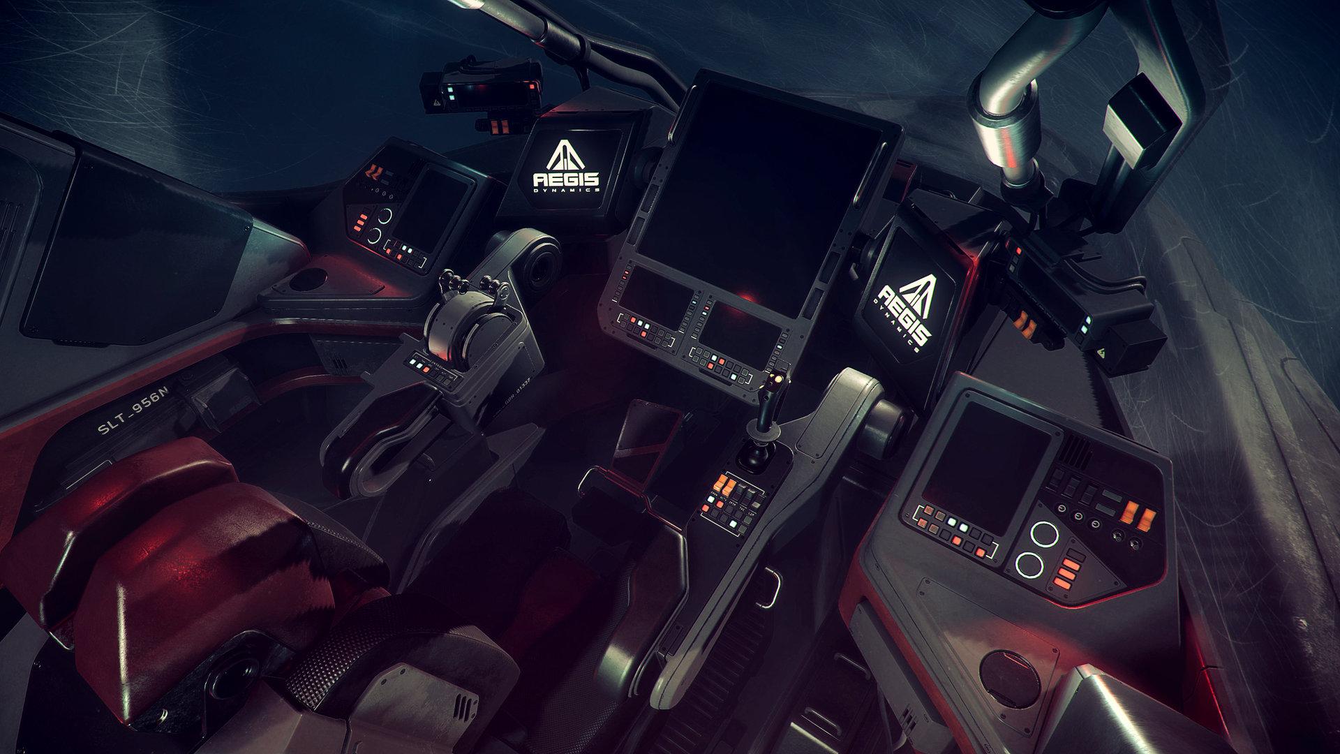 Nathan dearsley retaliator cockpit d