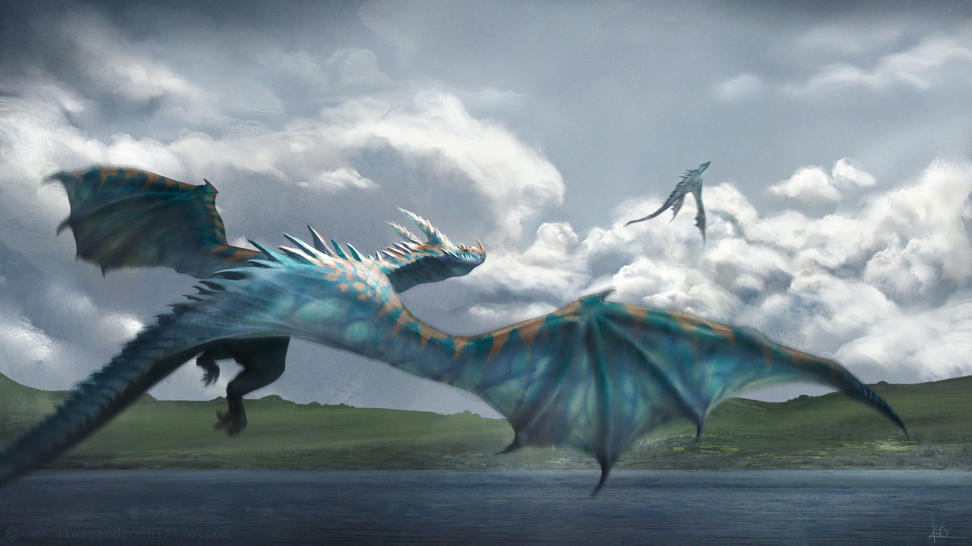 Alessandro chirico dragon chase alessandro chirico