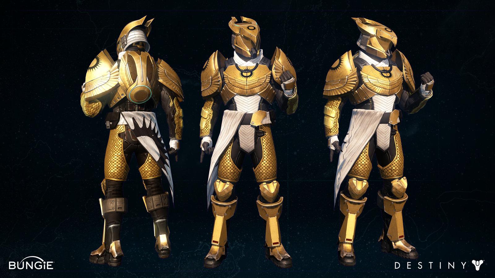 """Titan """"Exile"""" Armor set"""