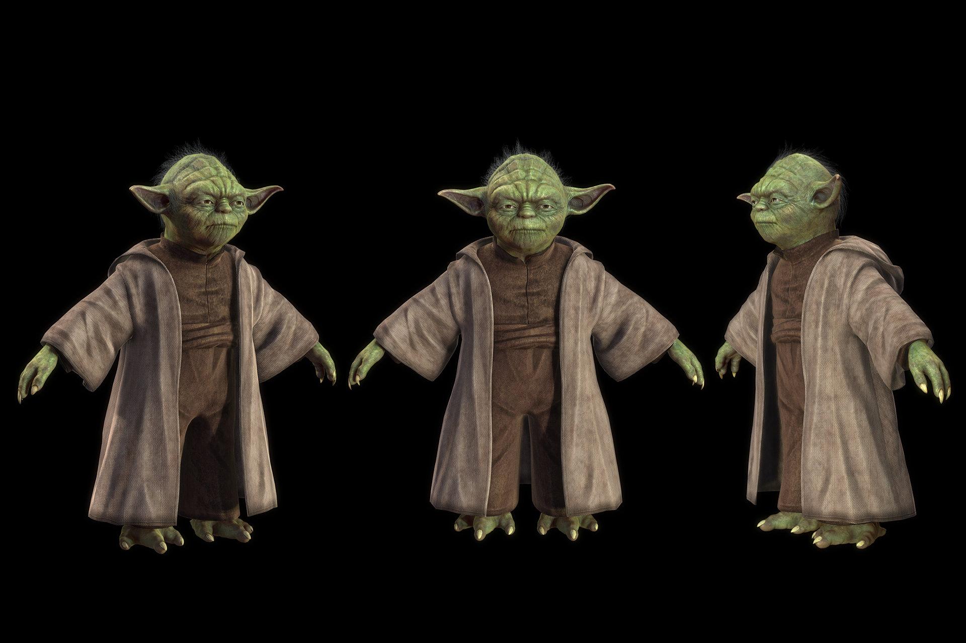 Artstation Master Yoda Titania G Han