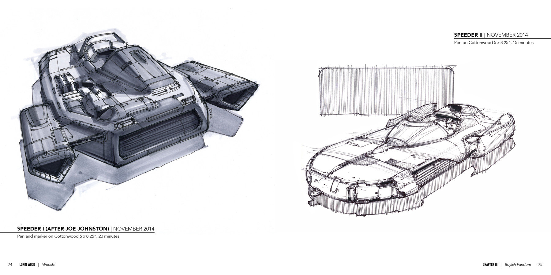 Lorin wood woosh spaceship sketches from the couch 09