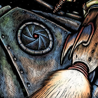 John ciarfuglia spaceman col art