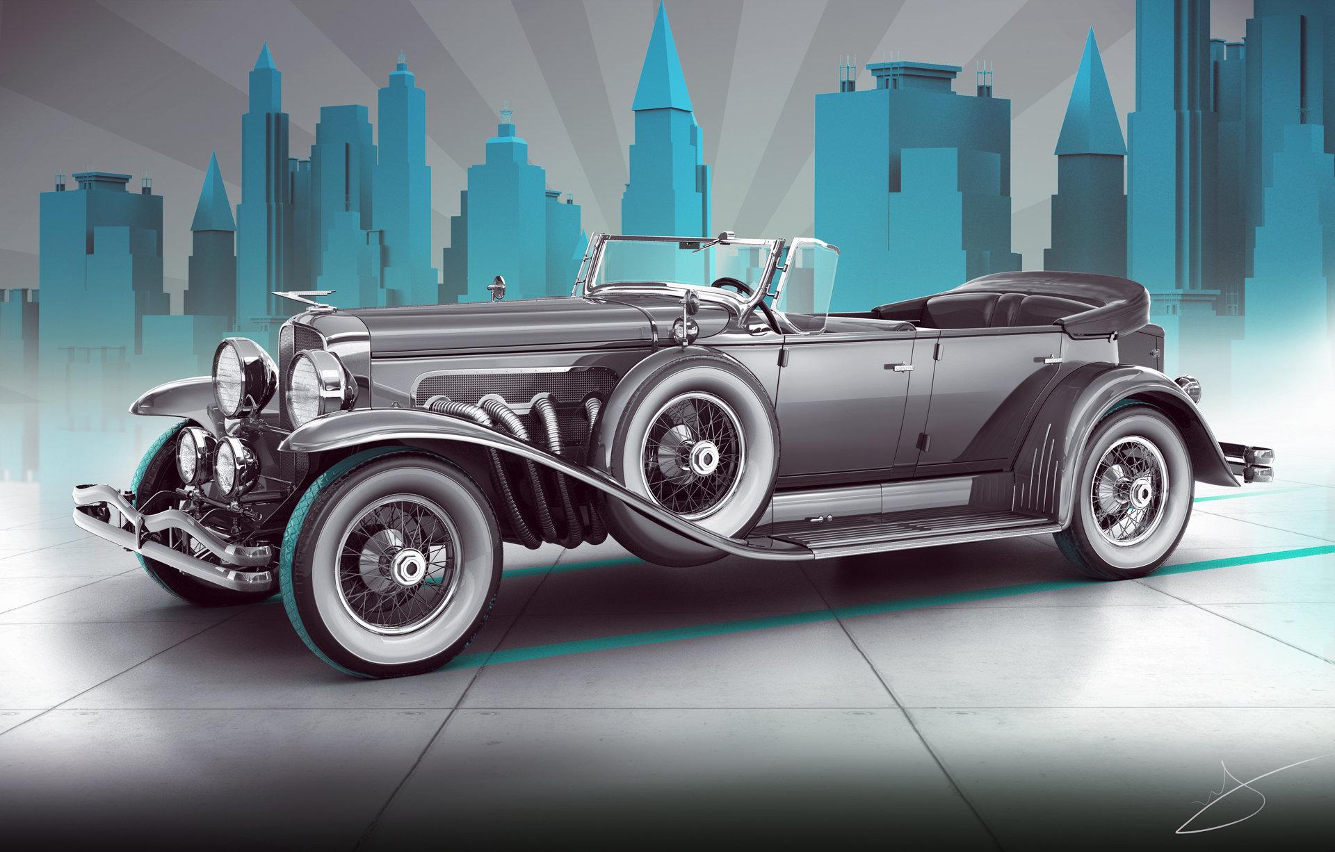 Alexandr novitskiy 1929 duesenberg model j dual cowl phaeton style 02