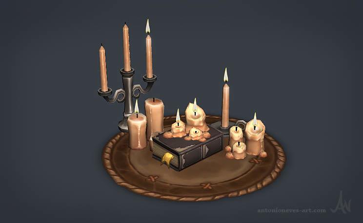 Antonio neves candles
