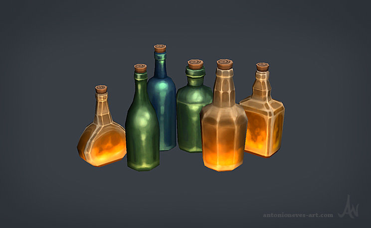 Antonio neves bottles