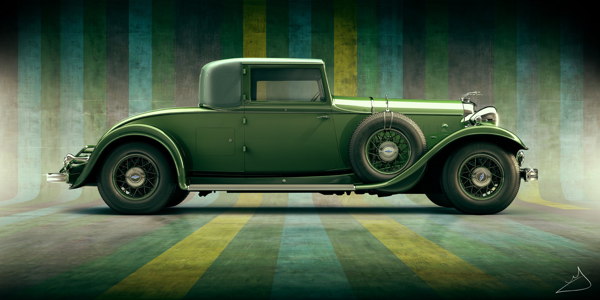 Alexandr novitskiy 1932 lincoln kb coupe art