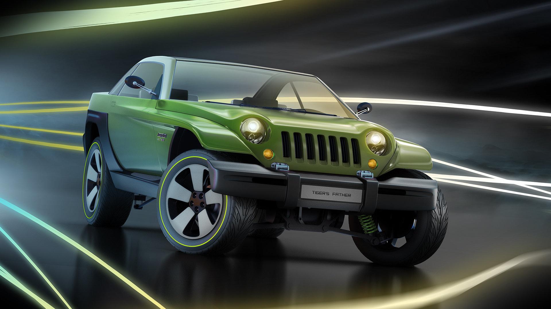 Alexandr novitskiy 1998 jeep jeepster concept style 02