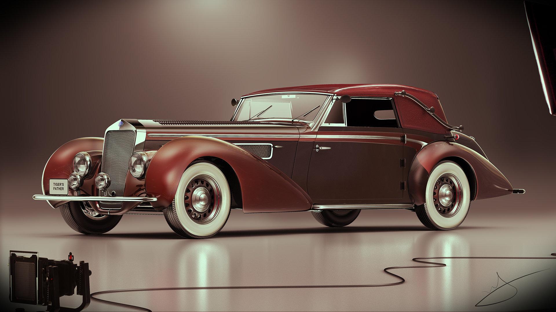 Alexandr novitskiy 1939 delage d8 120 cabriolet chapron 01