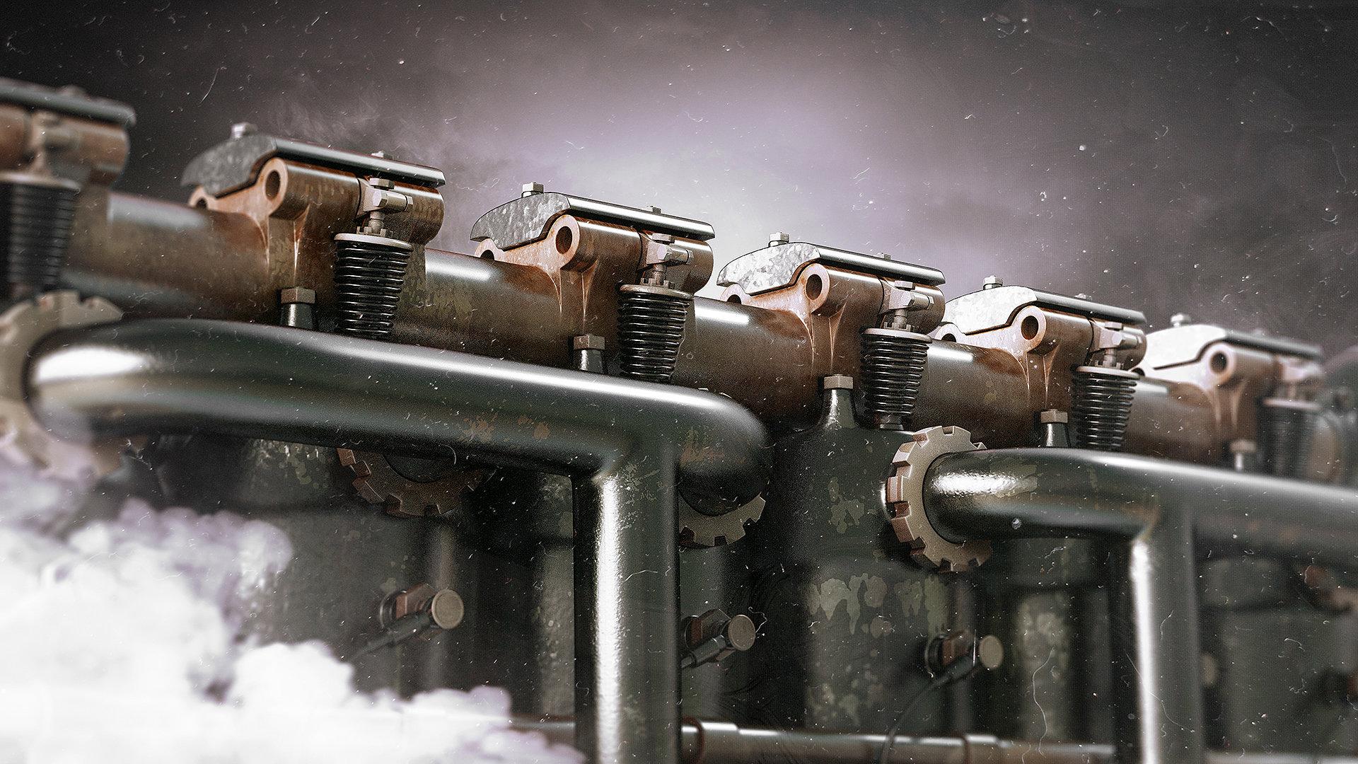 Alexandr novitskiy mercedes diii engine 05