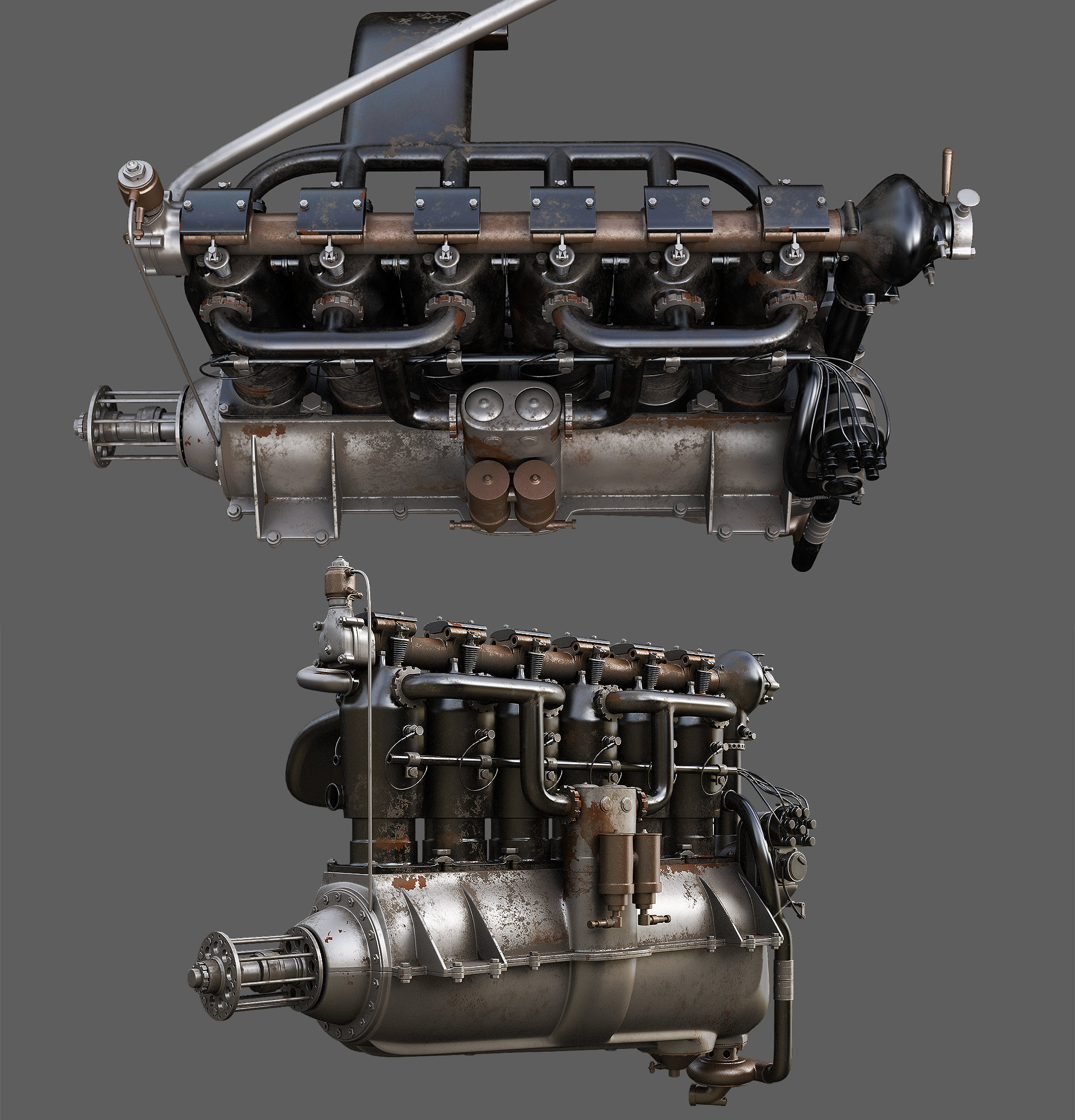 Alexandr novitskiy mercedes diii engine 06