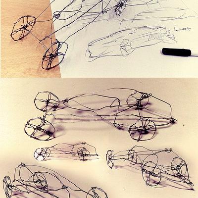Swaroop roy wire sketchc