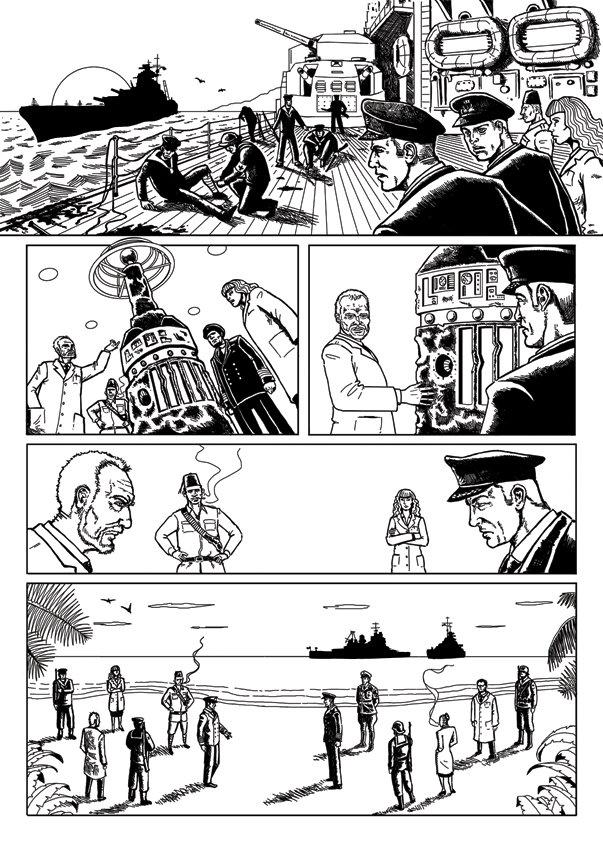 John ciarfuglia page5 ink art