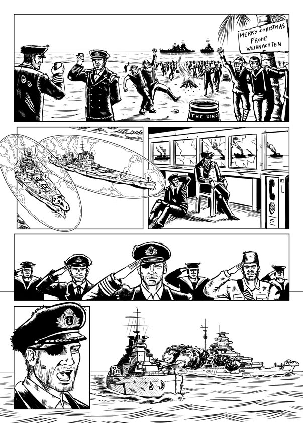 John ciarfuglia page11 ink art