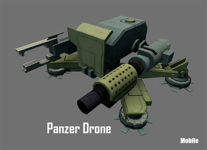 Brandon luyen 3d panzer drone