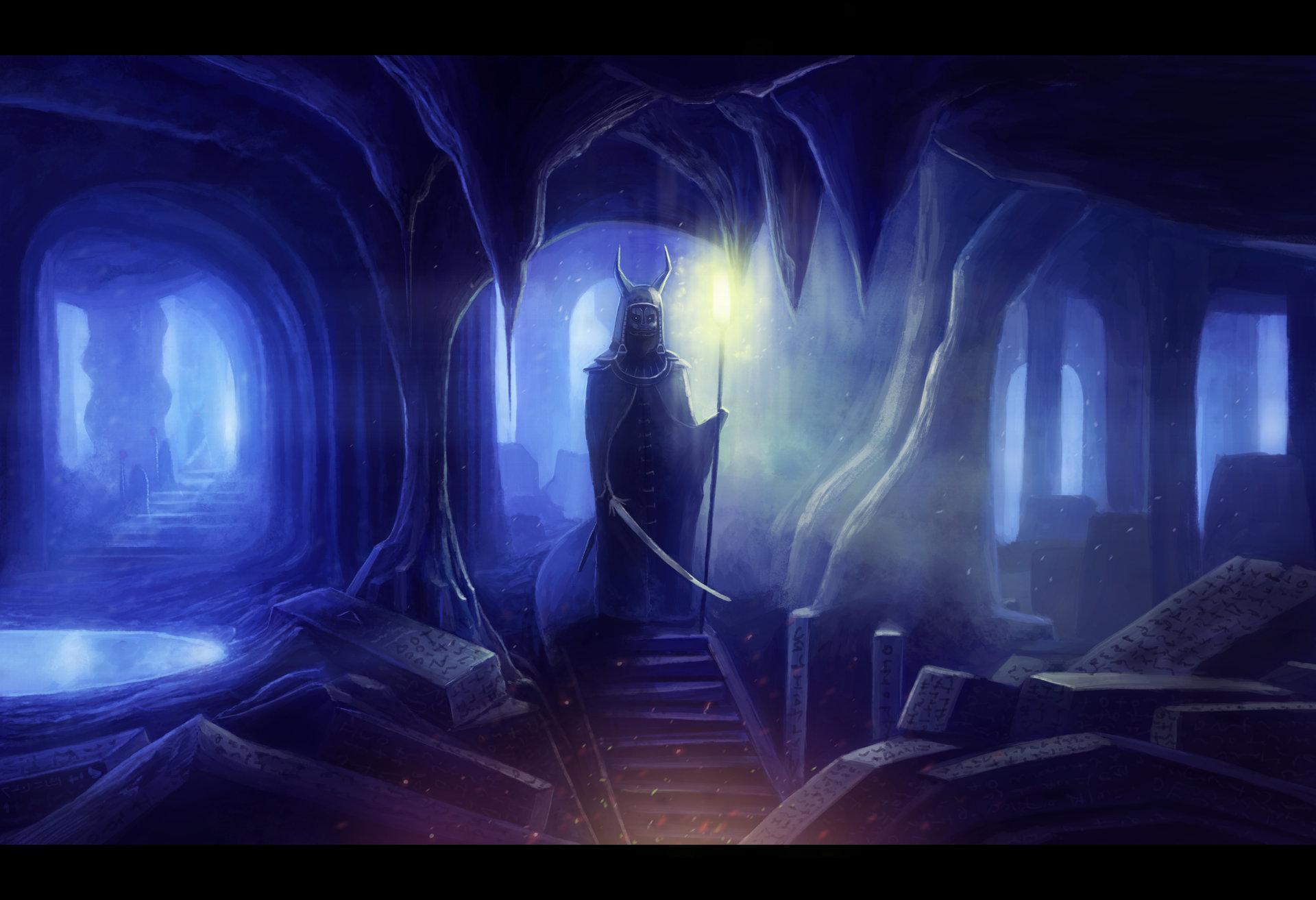 Cavekeeper by AntonKarlik