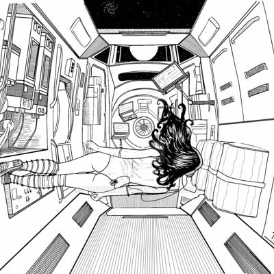 Anto finnstark somewhere in space 2 by hostdraw d8y1wbd