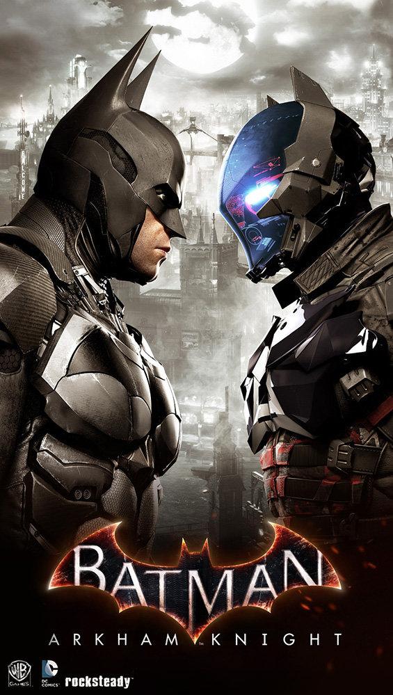 Promotional Image For Batman Arkham Knight Tomasz Namielski City Signtemplate Framed 512 Template