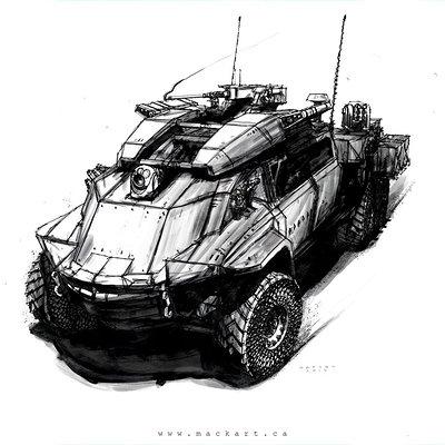 Mack sztaba amphibious military craft