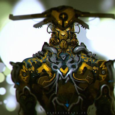 Benedick bana gold lion lores