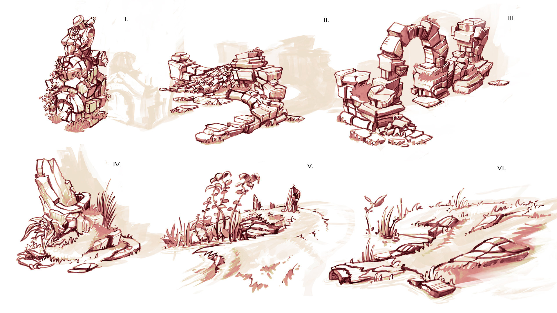 Domen kozelj old havenbrook and feverlands concepts