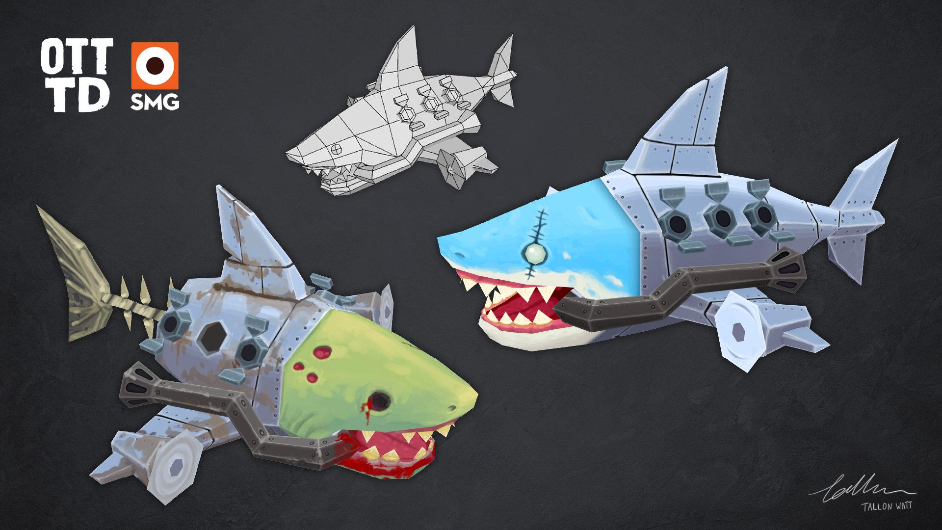 Tallon watt shark bosses2