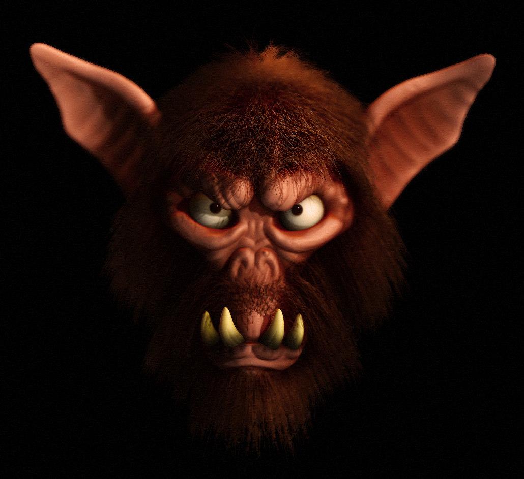 Mike robinson goblin monkey