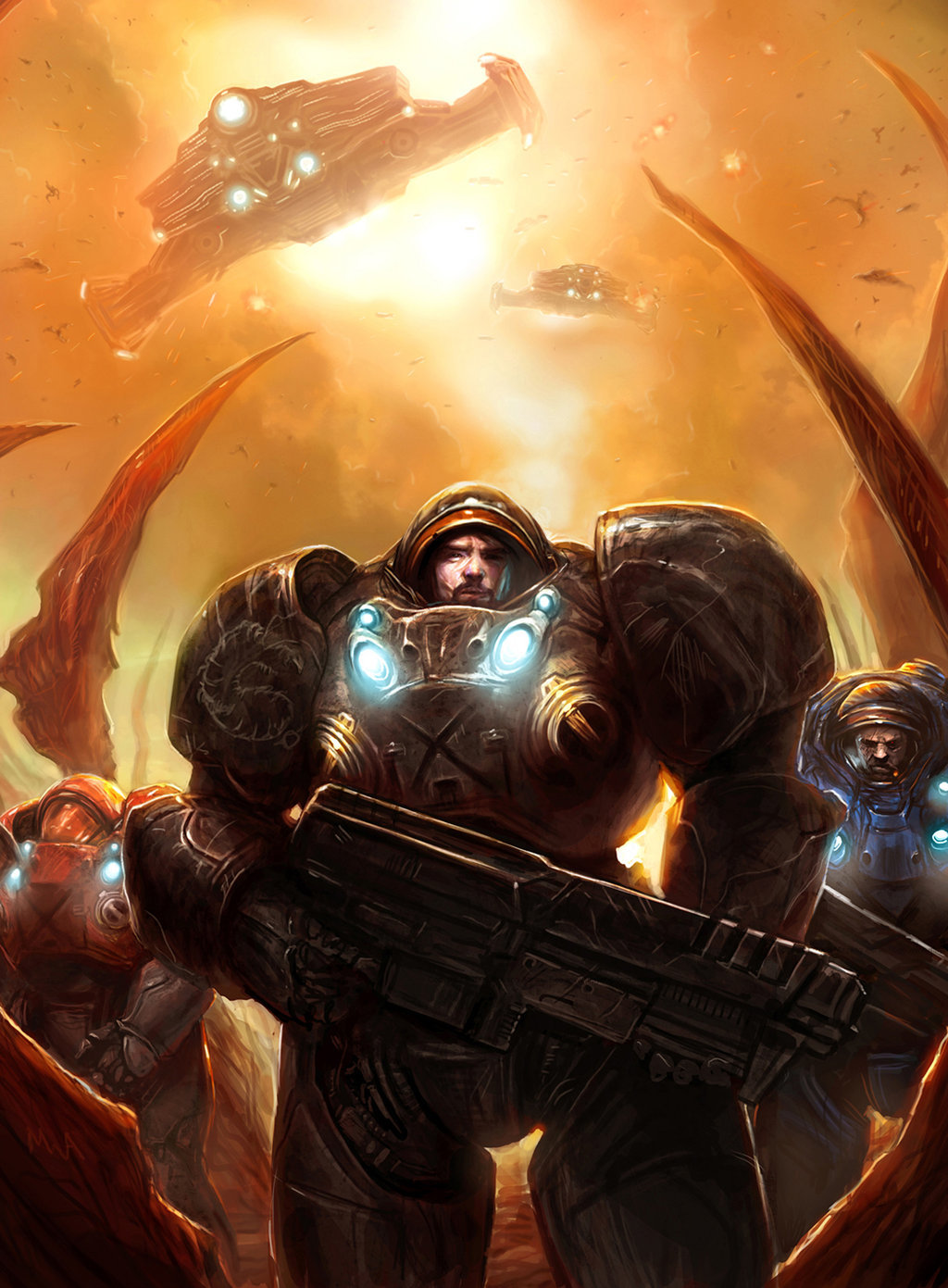 Michael antrim starcraft 2 all in by thechaoticknight d2vwmv5