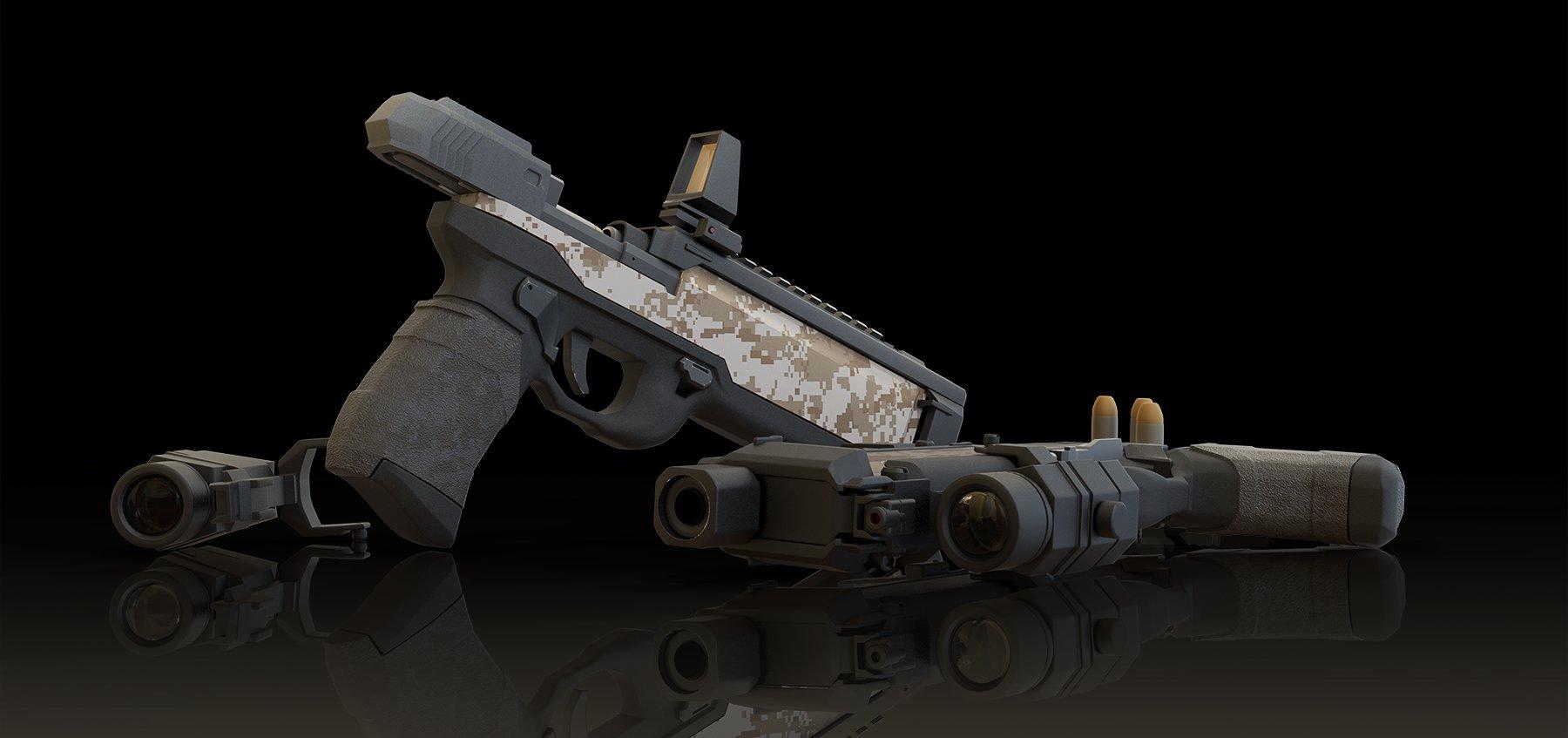 Il kim part add scene retake1 pistol 169