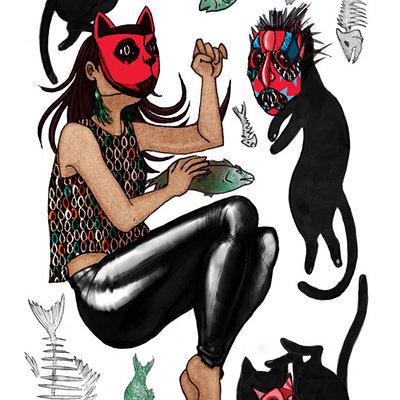 Kat kluge catgirl