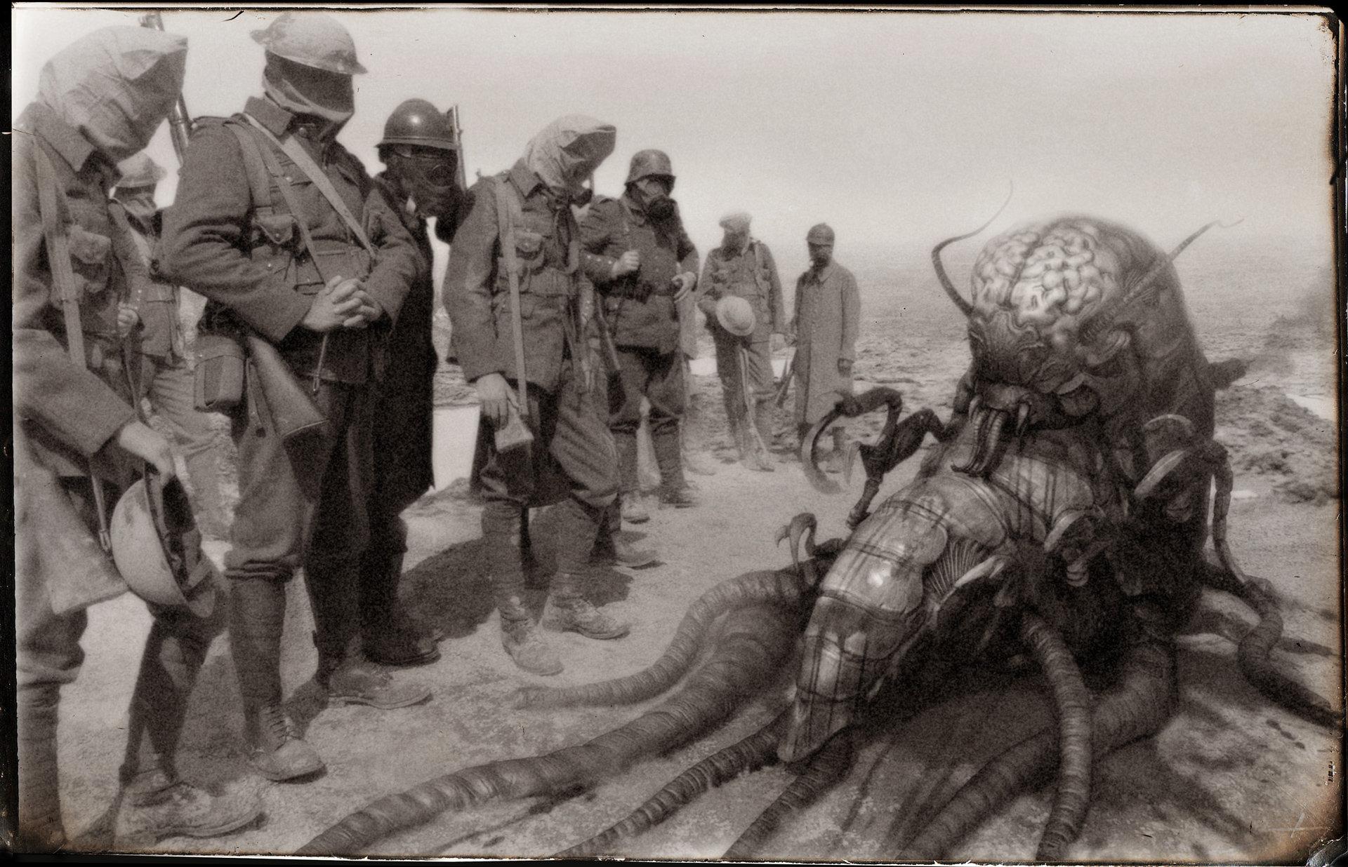 Christian Johnson Great Martian War Old Photographs