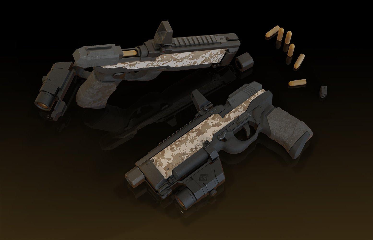 Il kim part add scene retake1 pistol 165