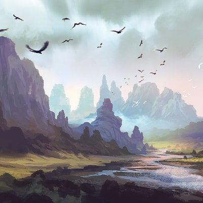 Ferdinand ladera mountain landscape