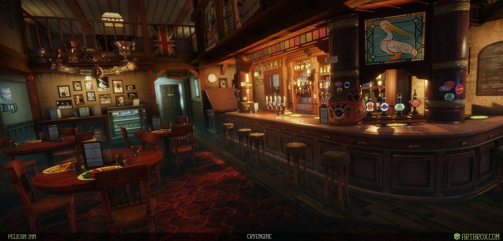Pelican Pub environment